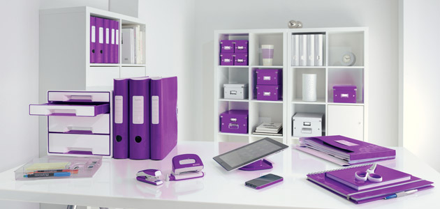 d coration bureau violet. Black Bedroom Furniture Sets. Home Design Ideas
